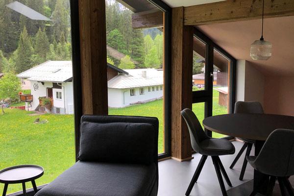 Die Ferienwohnung (4 Personen) - Kleinwalsertal Lodge - Baad
