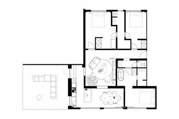Die Ferienwohnung (6 Personen) - Kleinwalsertal Lodge - Baad